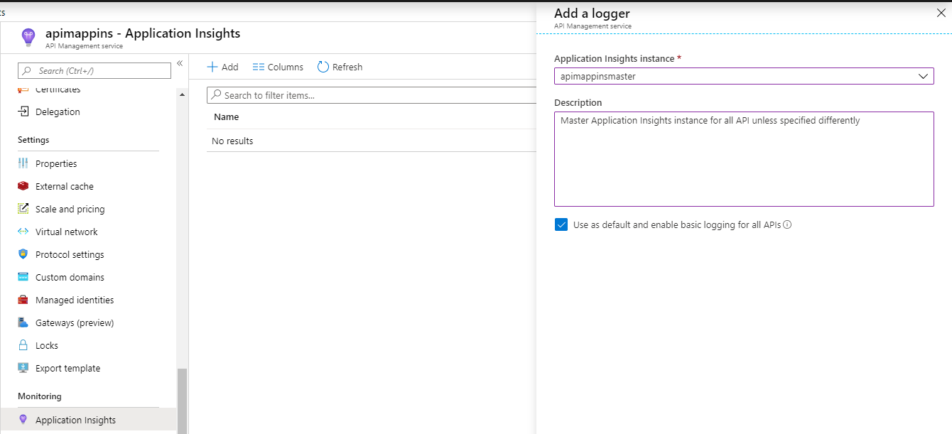 Master Application Insights in API Management